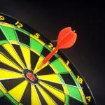 Briefing erstellen PR Agenturen Dartscheibe Ziel
