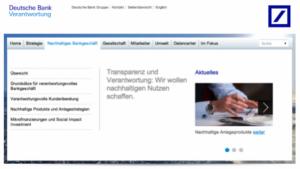 Ansicht Deutsche Bank