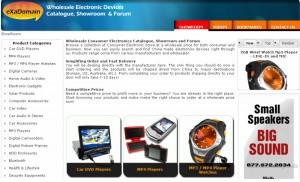 Beispiel für einen Online-Shop über das Shopsystem VirtueMart
