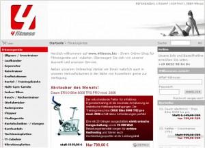 Beispiel für einen Online-Shop über das Shopsystem xt:Commerce