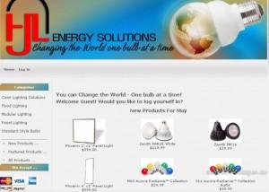 Beispiel für einen Online-Shop über das Shopsystem ZenCart