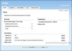Gesamtüberblick Community-Platform XCAP