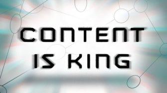 Content ist und bleibt König!