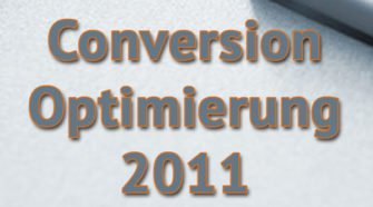Conversion Optimierung 2011