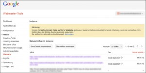 Google Webmaster Tools bieten viele relevante Daten