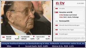 IPTV Anwendung von N-TV