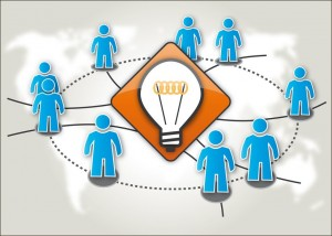 Innovationen benötigen meist Ideen vieler Beteiligten