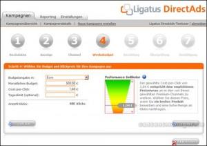 Ligatus DirectAds Kampagnenerstellung