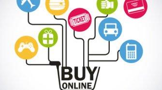 Online - Einkäufe legen zu