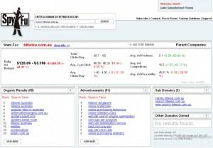 SpyFu - Organische Suchergebnisse und SpyFu - Adwordskampagnen