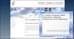 Voice Reader Tandler, Riegger & Kollegen