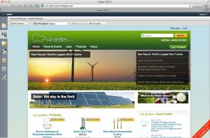 Vorschau der Webseite