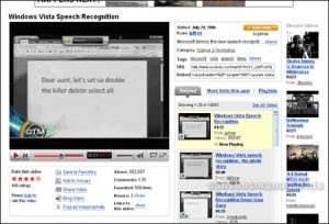 Windows Vista Speech Recognition